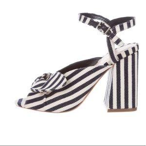 Loeffler Randal Leigh Striped Sandals